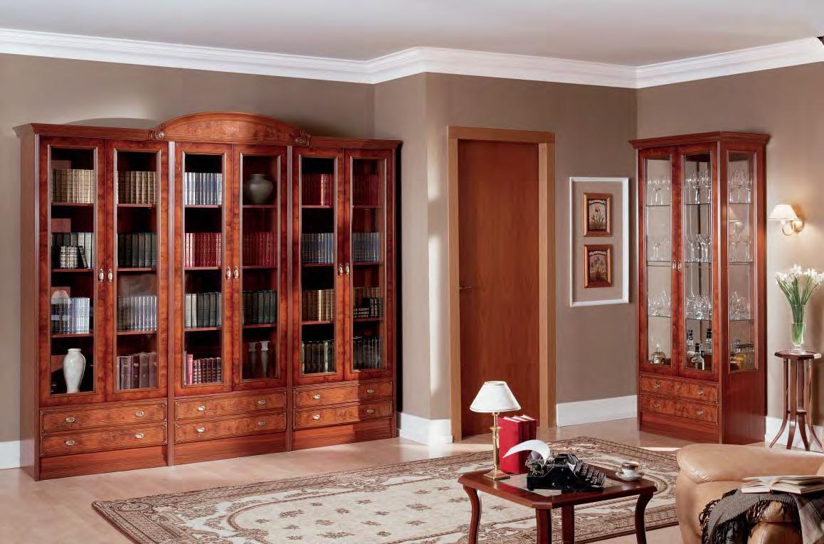 """Купить библиотеку серии """"париж, вена, империя"""" от мебельной ."""