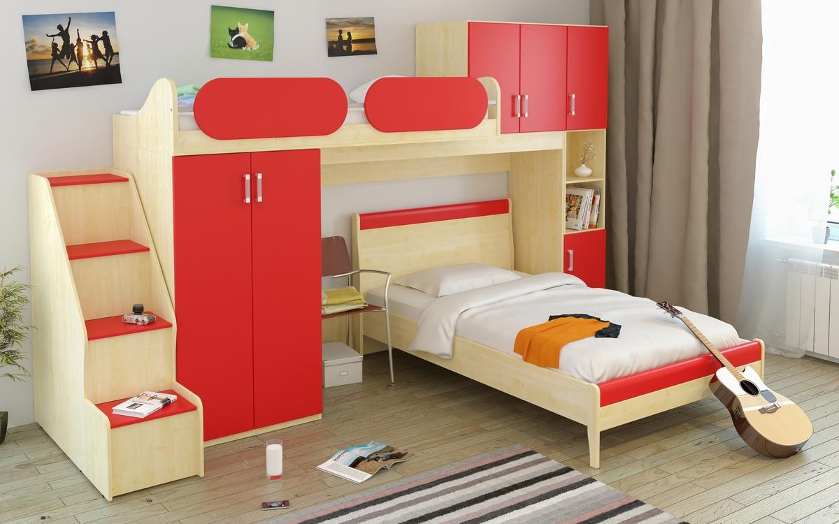 Купить комплект мебели teens home спальня 5 в магазине вашма.